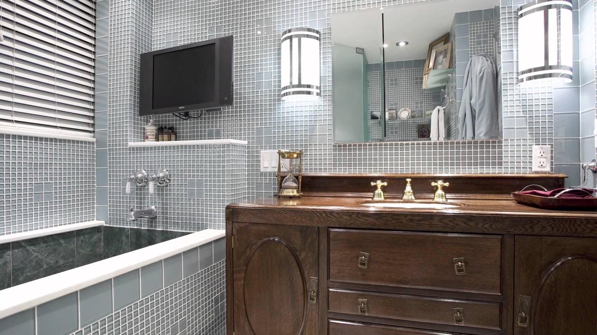 30 Great Pictures And Ideas Art Nouveau Bathroom Tiles Art Deco Bathroom Vanity Bathroom Tile Designs Art Deco Bathroom