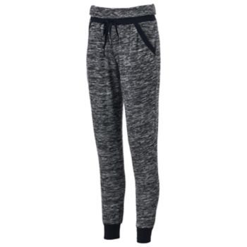 Juniors' Almost Famous Marled Hatchi Jogger Pants