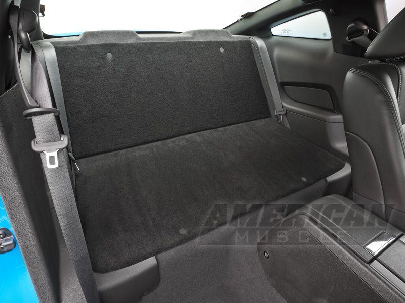 Speedform Rear Seat Delete Kit Black 05 14 Coupe