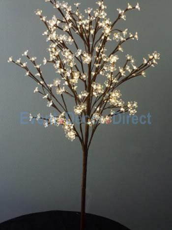 Blooming Crystal Led Lighted Tree