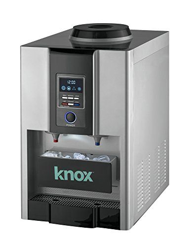 Knox Tabletop HotCold Water Cooler with BuiltIn Instant Ice Maker