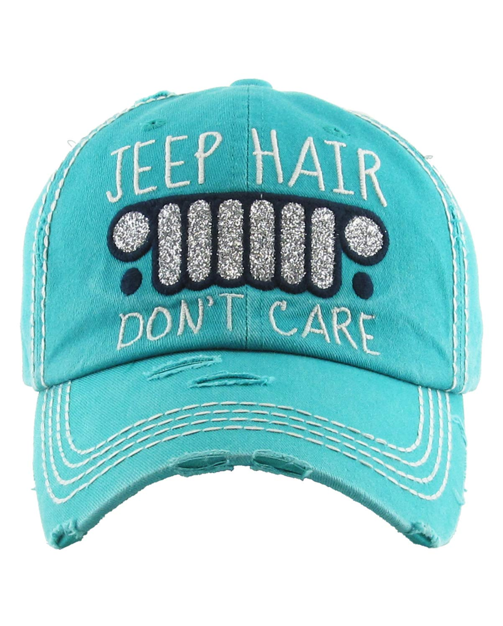 Jeep Hair Dont Care! (black) - Jeep Hair Dont Care - T