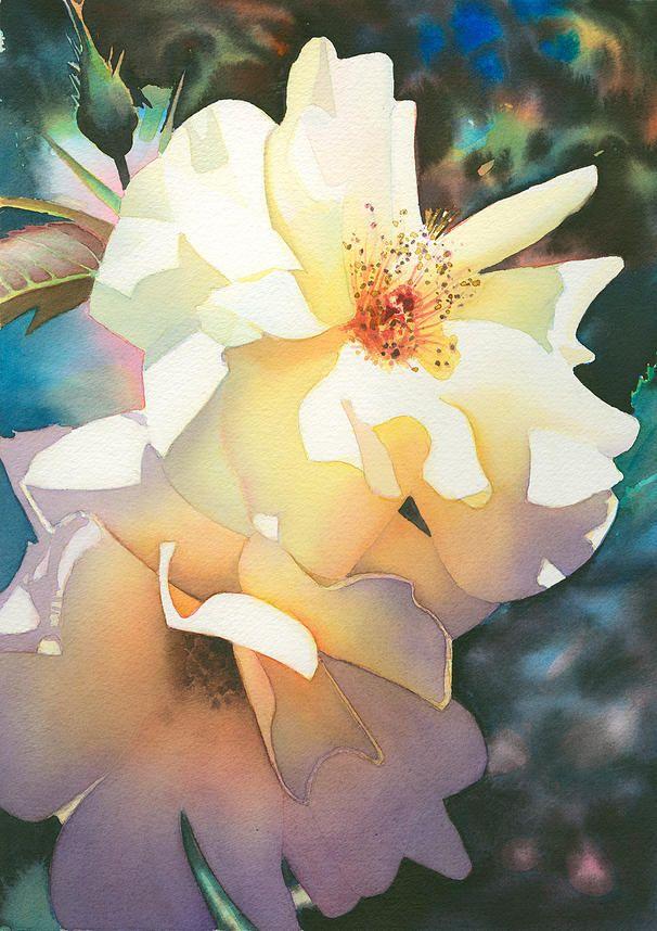 Gallery Guy Magallanes Watercolor Arte De Acuarela Flores Acuarela