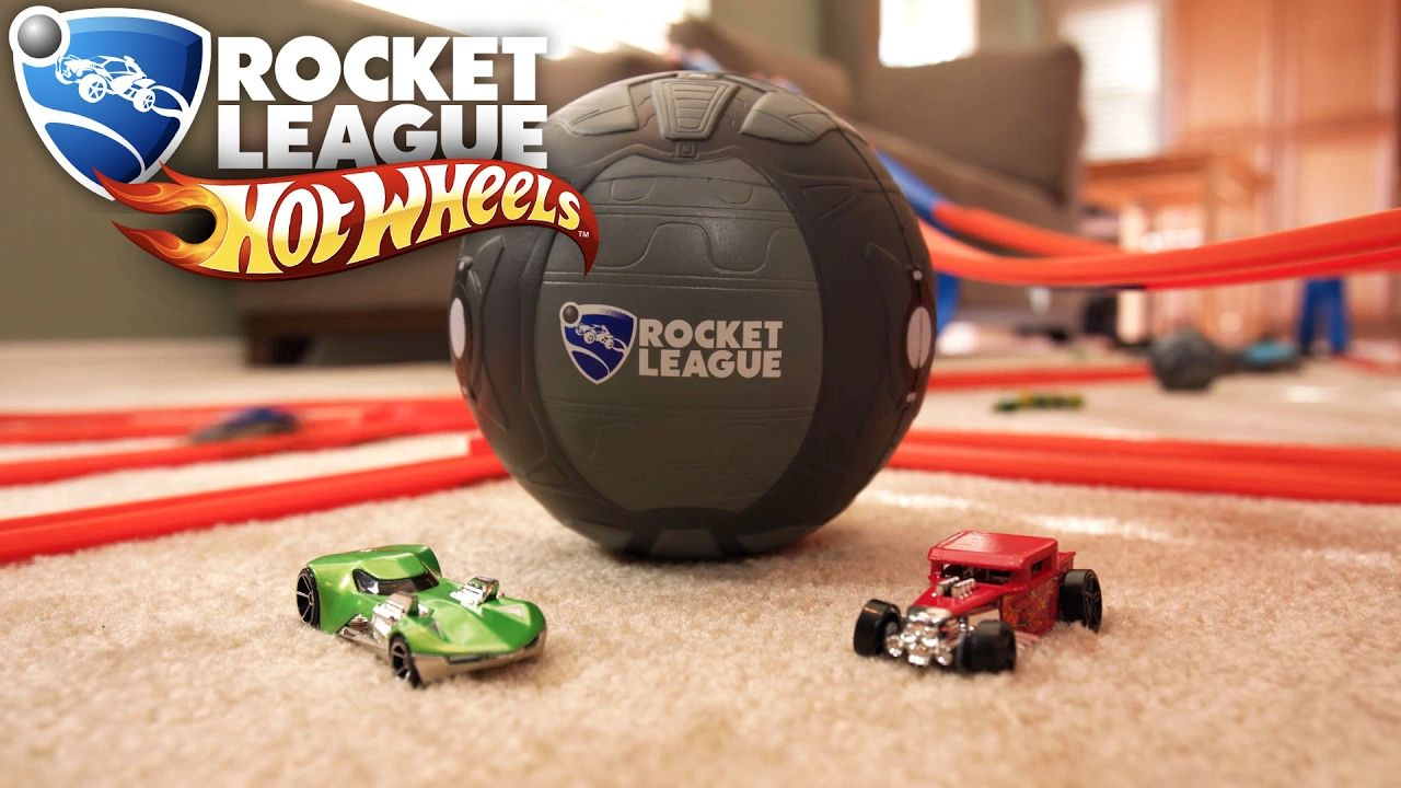 Rocket league hot wheels zag nerf car toy montage