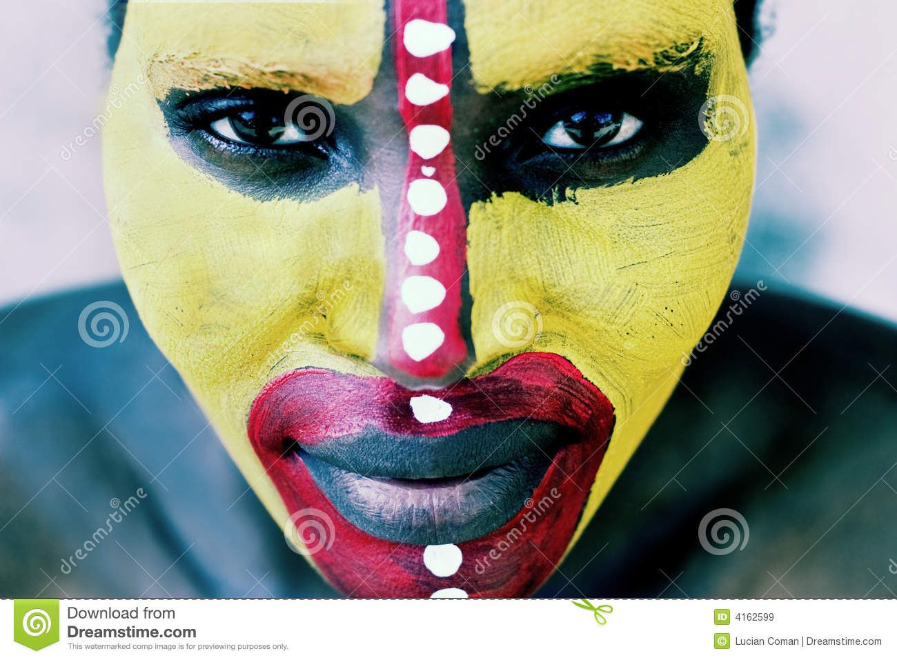 african tribal face paint - Google Search