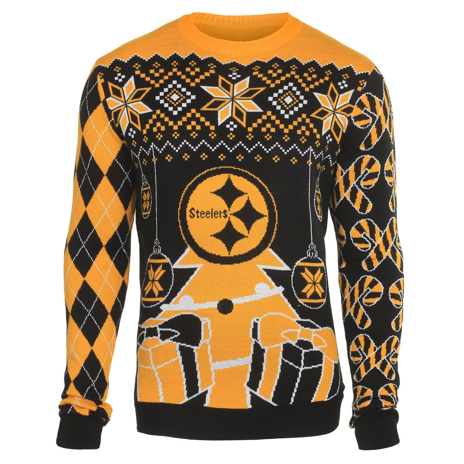 Pittsburgh Steelers Christmas Ornaments Ugly Sweater