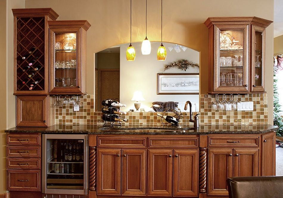image result for kitchen wine bars | kitchen cabinets, kitchen design, kitchen cabinet design