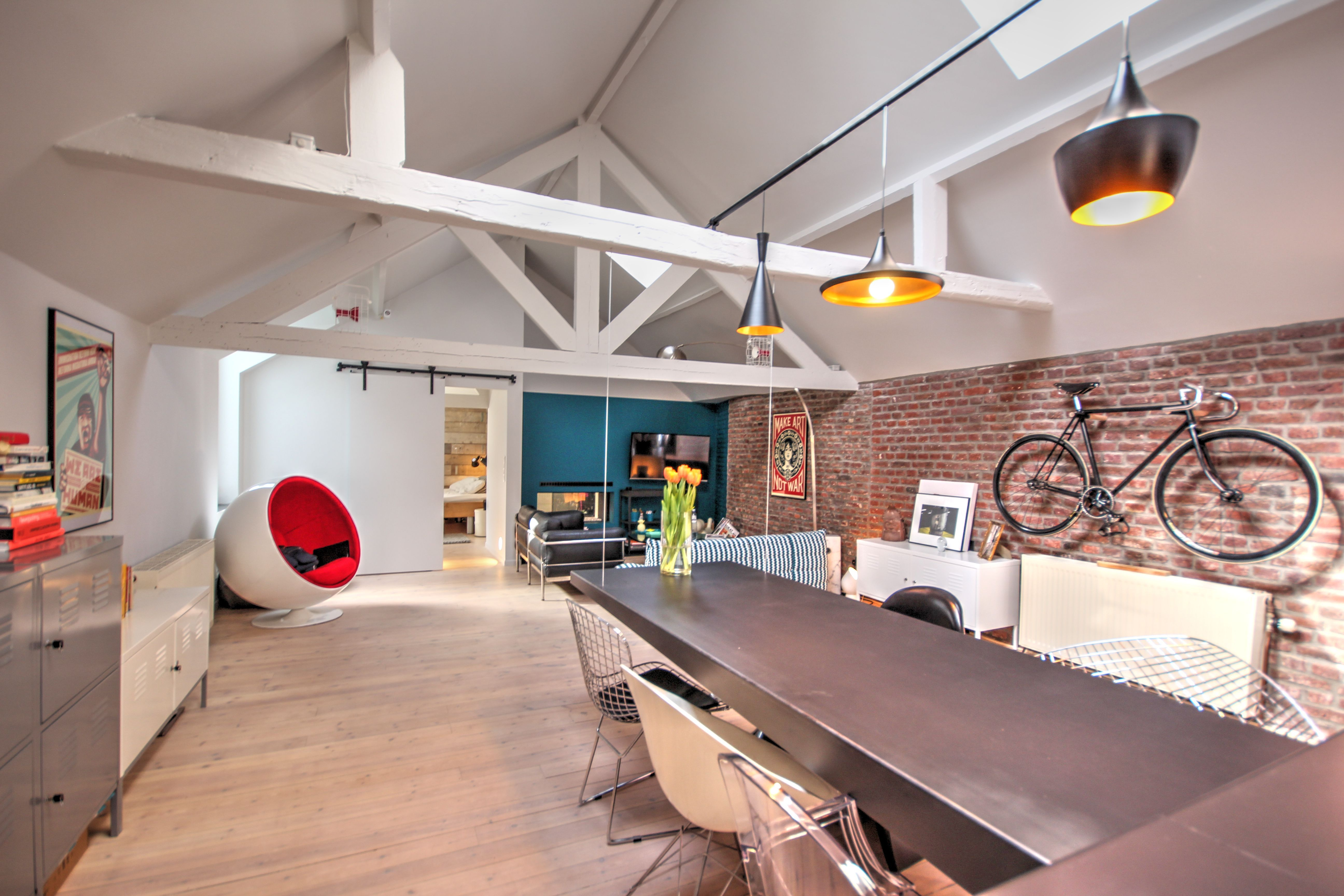 Pin By Jeremy Coxet On Loft Apartment Renovation Liege Be Apartment Renovation Loft Apartment Home