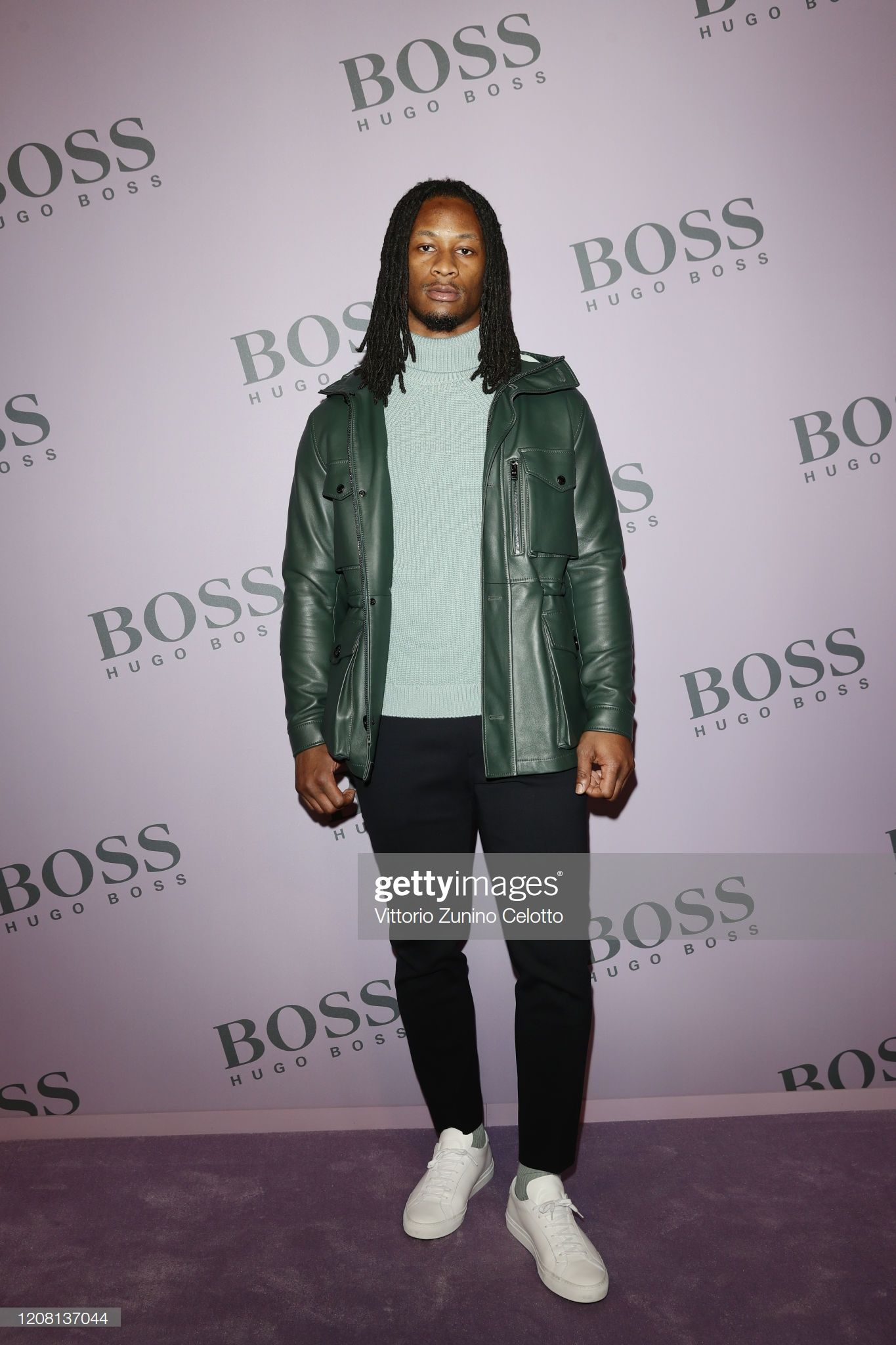 Todd Gurley Attends The Boss Fashion Show During The Milan Fashion In 2020 Fashion Todd Gurley Fashion Show