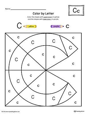 uppercase letter c color by letter worksheet alphabet letters letter worksheets letter c. Black Bedroom Furniture Sets. Home Design Ideas