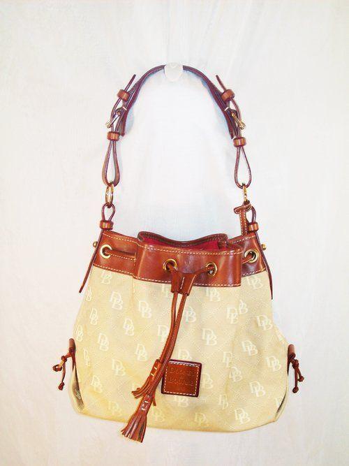 Canvas Hobo Drawstring Bag Purse