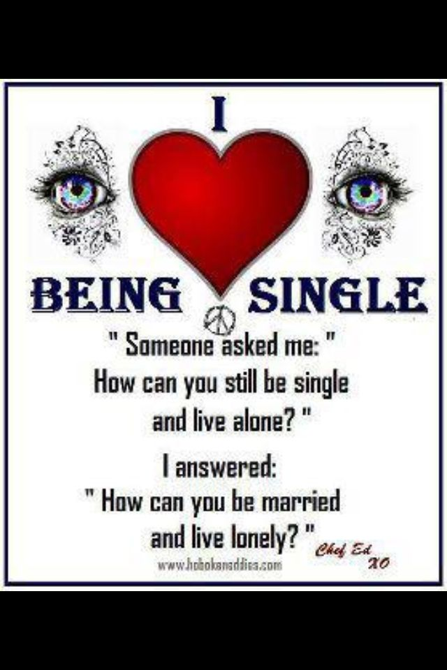 Being Single .. I Dont LOVE Being Single .. But . I Cope