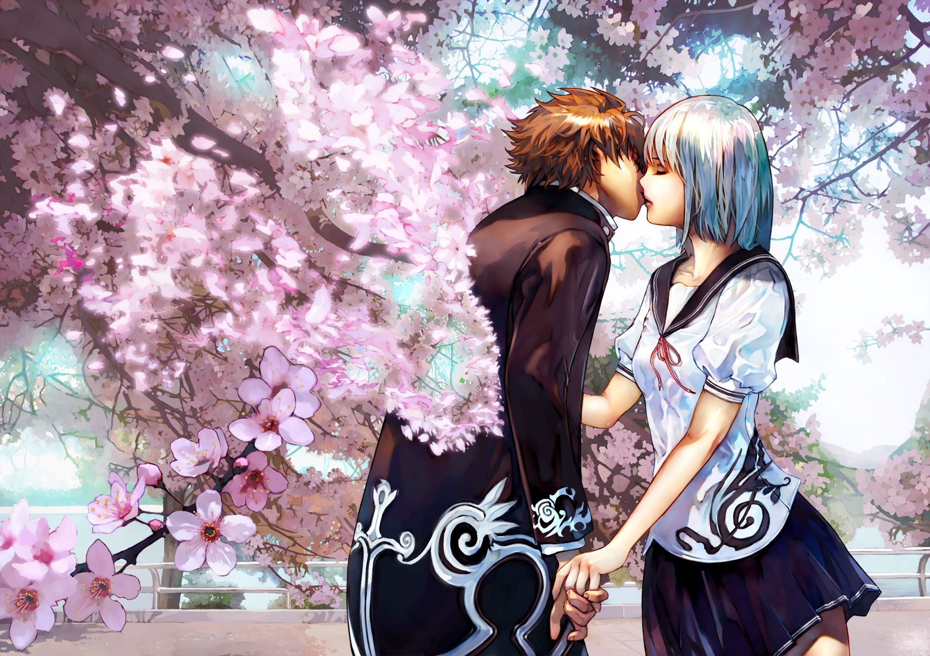Anime Love Hd Wallpaper Anime Manga Pinterest Anime Couples