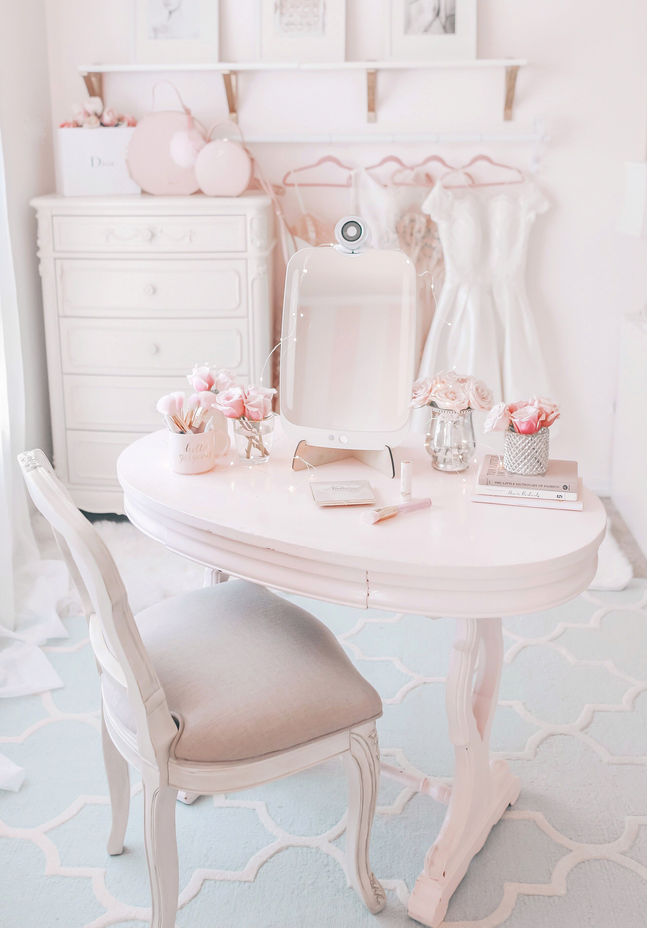 Say Hello To Himirror A Mirror Of The Future Favorites Pink Bedroom Decor Pink Bedrooms