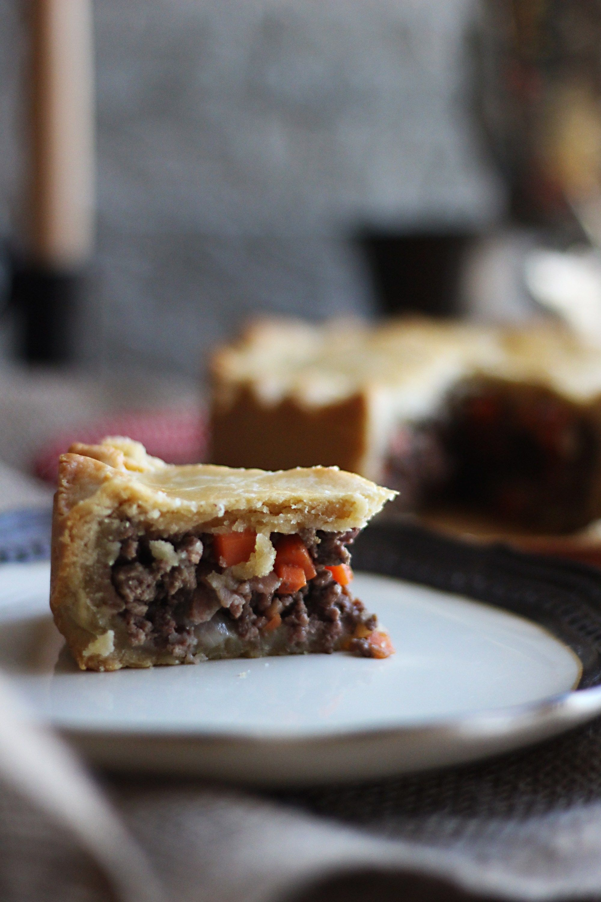 Game Of Thrones Beef And Bacon Pie Feast Of Starlight Recipe Bacon Pie Food Bacon Pie Recipe