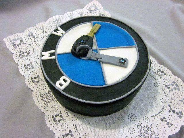 bmw keychain birthday cake   reverie cakes   pinterest   birthday