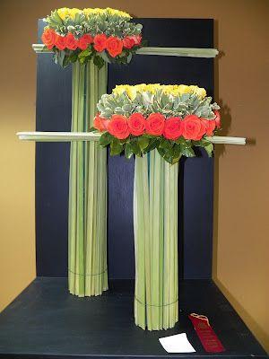 Arreglos florales creativos dise o floral pinterest flower arrangements grasses and floral - Arreglos florales creativos ...