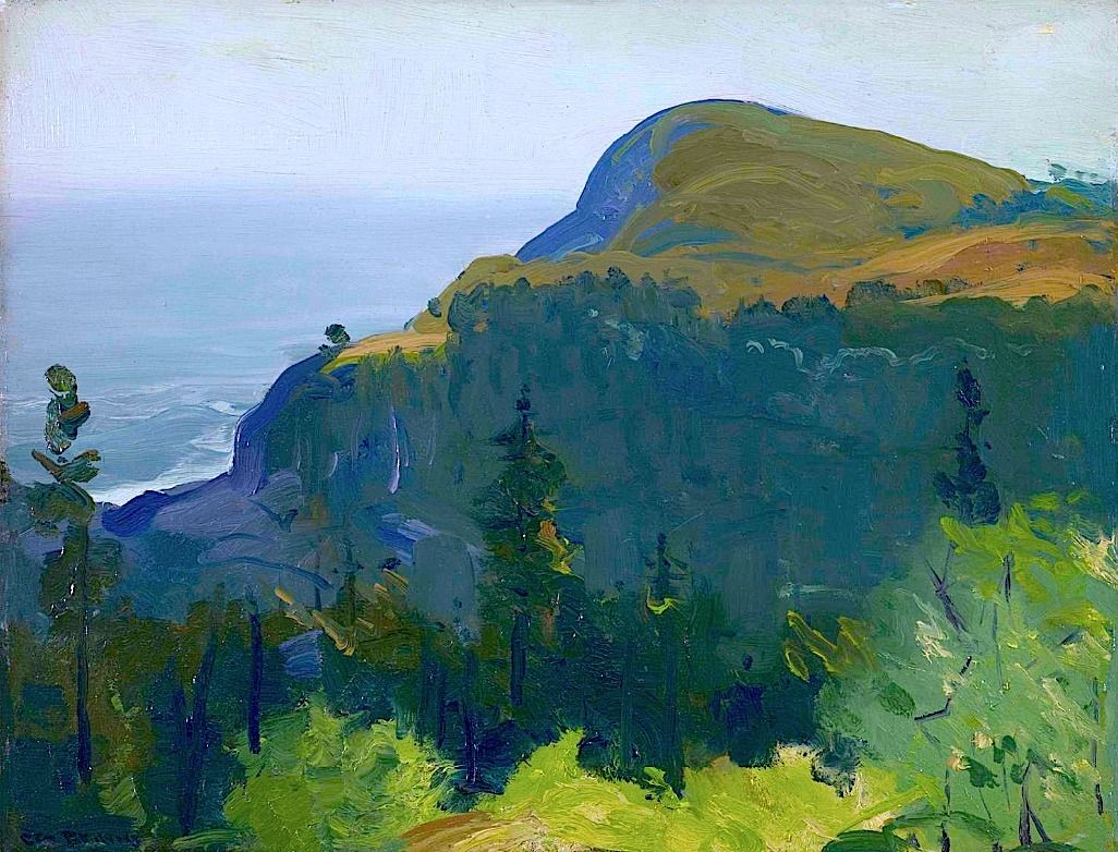 Pin by Nicholas Fredman on Looking at landscape (With ...  |1950s American Realism Art Landscapes