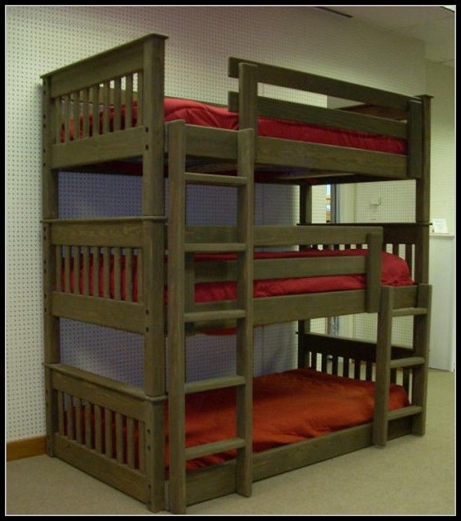 Bunk Bed Plans Triple Dimensions