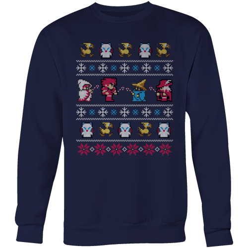Final Fantasy Ugly Christmas Sweater Gifts For Gamers Christmas