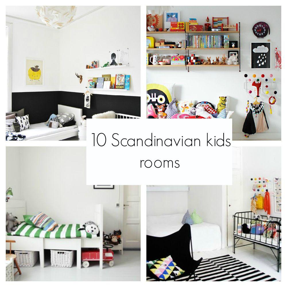 Scandinavian Style Kids Room: 10 Scandinavian Style Kids Rooms Http://www.decopeques.com