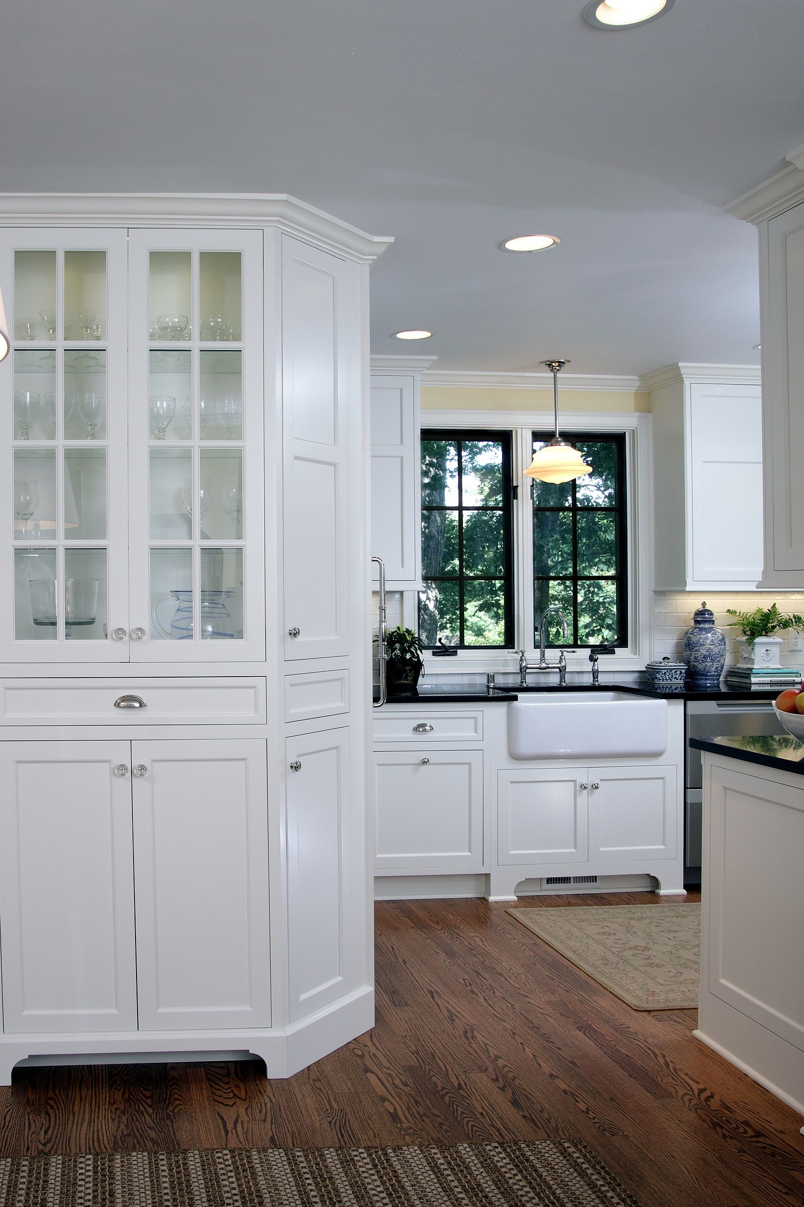 Traditional Kitchen With White Inset Cabinets Kitchen Projects Design Home Kitchens Cabinet Door Styles