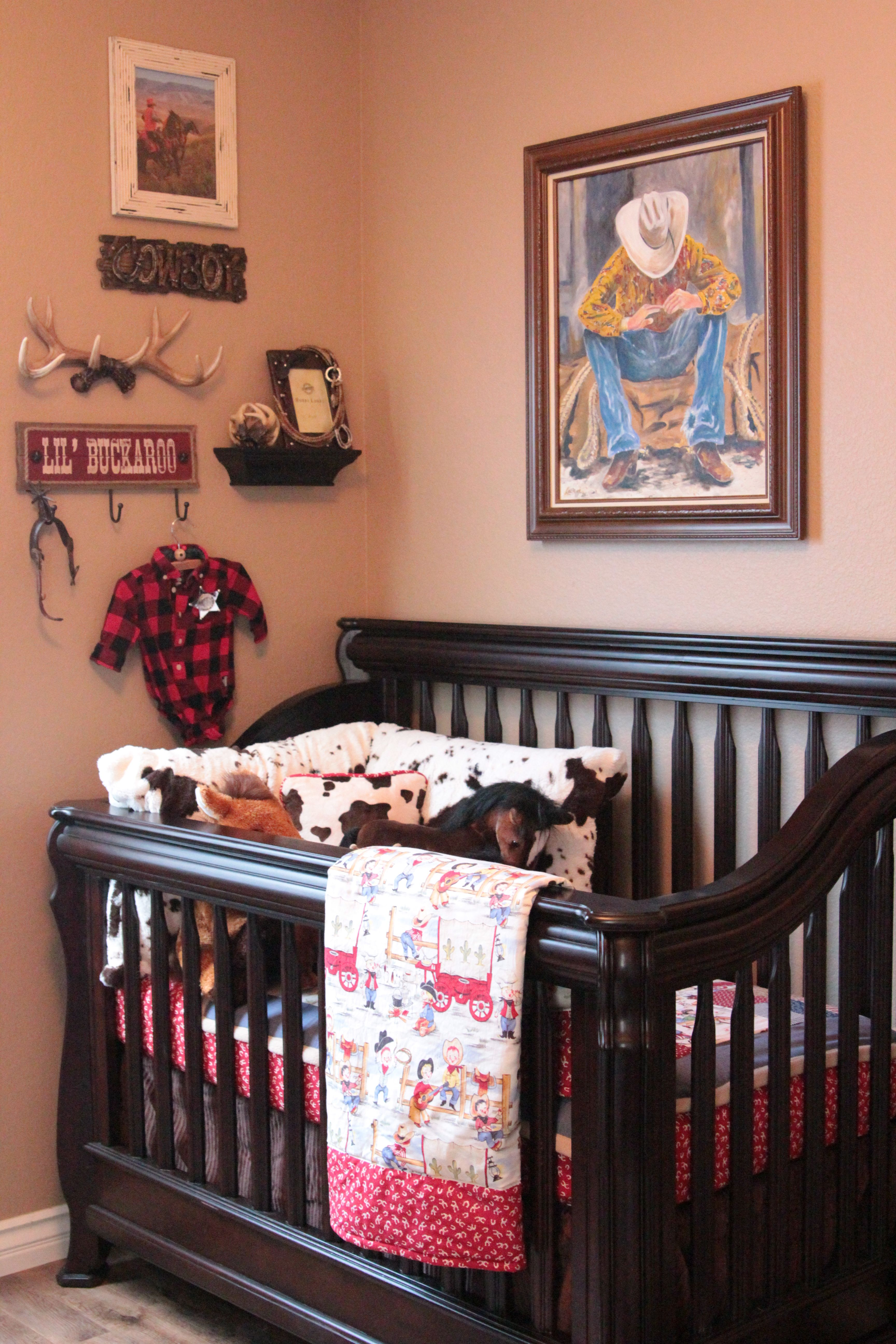 Ryan S Version Of A Nursery Lol Cowboy Country Nursery