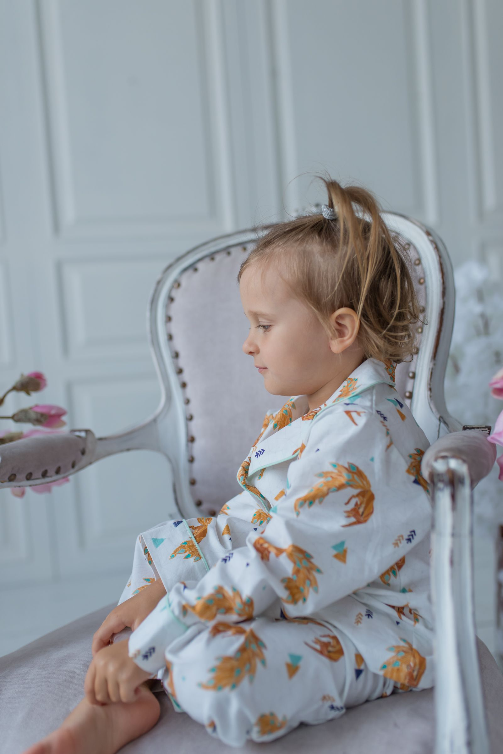 4a3ca945c Organic cotton pajama for girl s