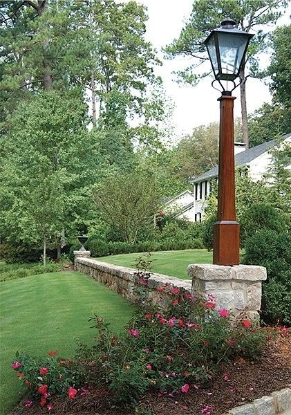 Traditional Landscape Design Ideas Pictures Remodel And Decor Front Yard Lighting Front Yard Yard Lights