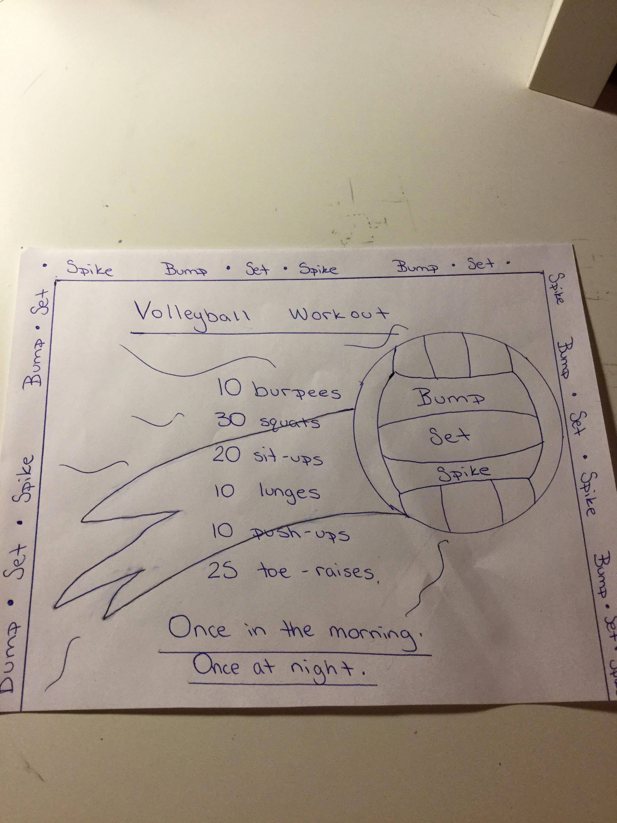 Volleyball Workout Basketballcourthacks Volleyball Workouts Volleyball Drills Coaching Volleyball
