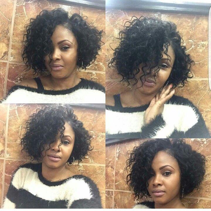 Hairbellah curly bob love it
