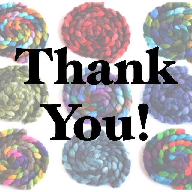 Thank you all SO MUCH for your enthusiastic support of our business this past weekend during our annual Spring Thank You Sale: we can hardly wait to see what magic you create with your new fiber! The rest of the sale orders will ship by mid-week.  Take good care and Spin ON!!   #thankyousale #threewatersfarm #yarnspinners #instayarnspinners #spinningwheel #iloveyarn #yarnlove #wemakeyarn #handspun #handspunyarn #handspunstagram #yarnspinnersofinstagram #yarnspinners #threewatersfarmfiber