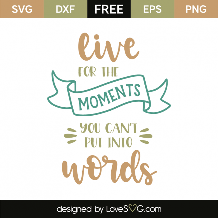 Download Live for the moments you can't put into words | Words ...