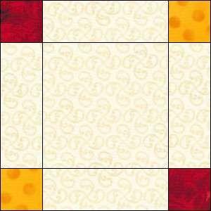 Double Irish Chain Quilt Pattern: Easy Quilt Block, Easy Quilt ... : block quilt patterns for beginners free - Adamdwight.com