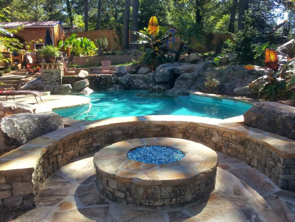 Incredible Swimming Pool Design Before and After Water features