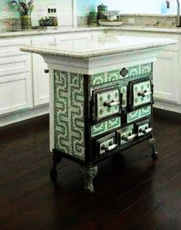 20 Ways to Reuse and Recycle Old Kitchen Stoves for Home Decorating ...