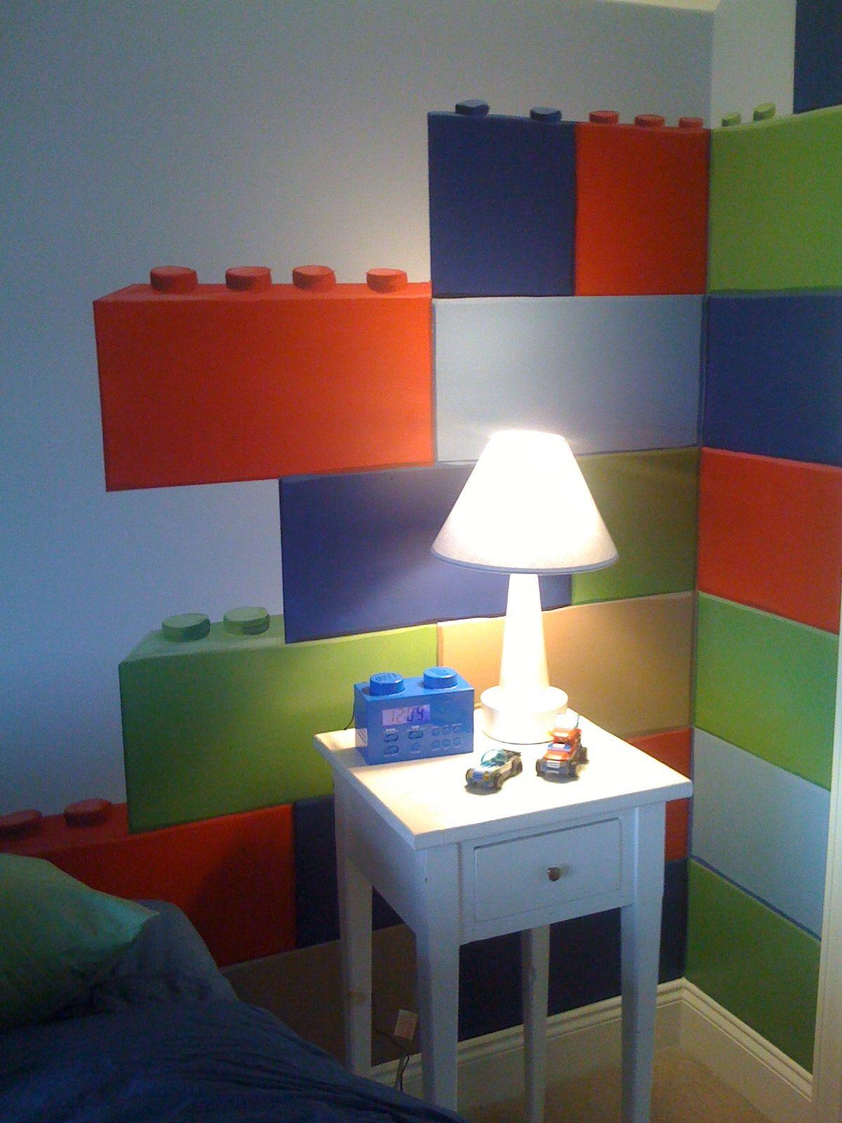 Lego Room With Big Bricks Wall Decals Lego Room In 2019