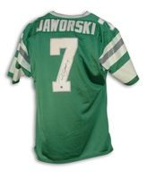 4173fa55794 Ron Jaworski Philadelphia Eagles Autographed Green Throwback Jersey ...