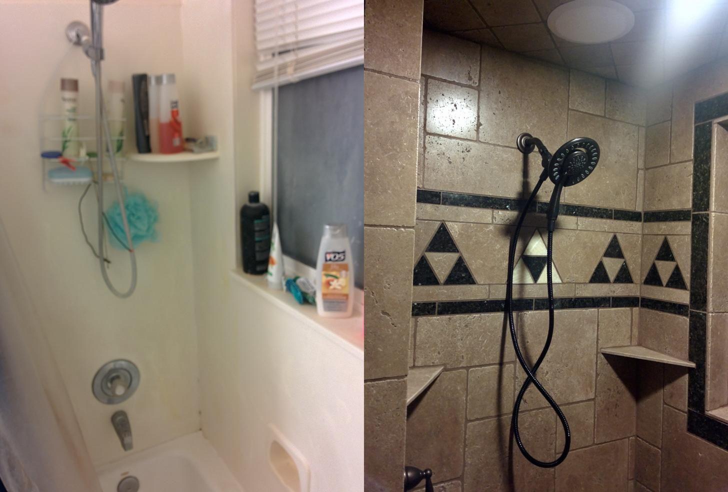 Hyrulean Bathroom Remodel  Bathrooms remodel, Geek home decor