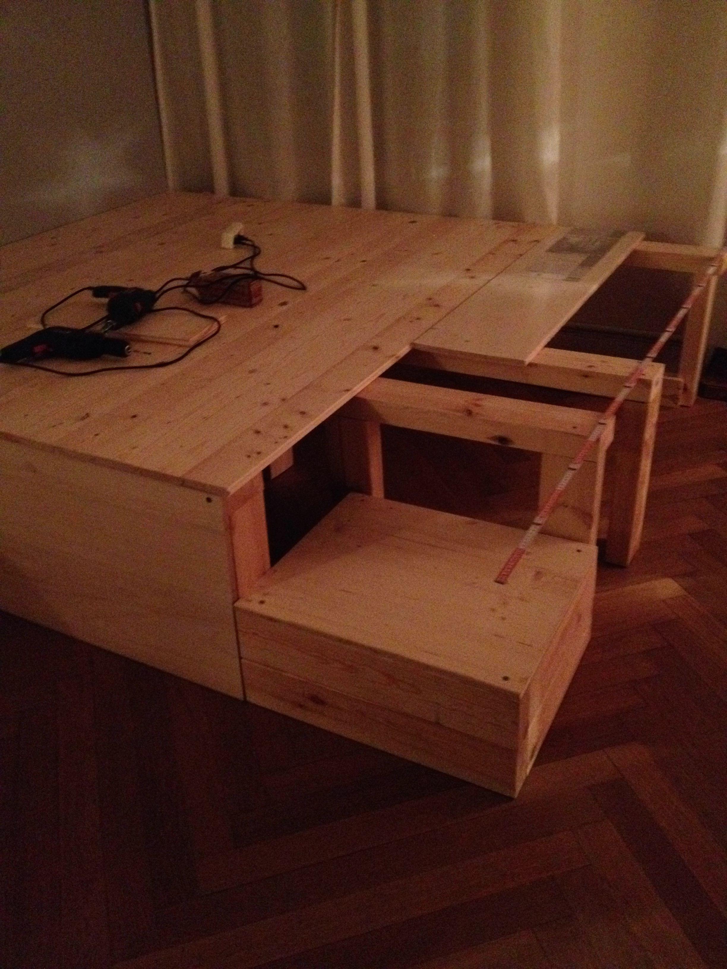 DIY Podest  Kochrezepte  Podestbett Bett ideen und