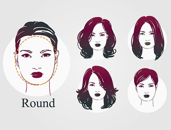20 Most Flattering Hairstyles For Round Faces Round Face Haircuts Haircuts For Round Face Shape Medium Hair Styles