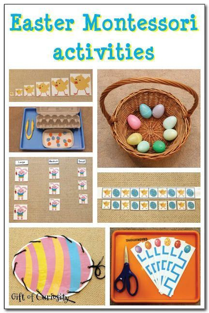Easter montessori activities montessori pre school and easter check out these great preschool and kindergarten easter montessori learning ideas kbn montessori negle Gallery