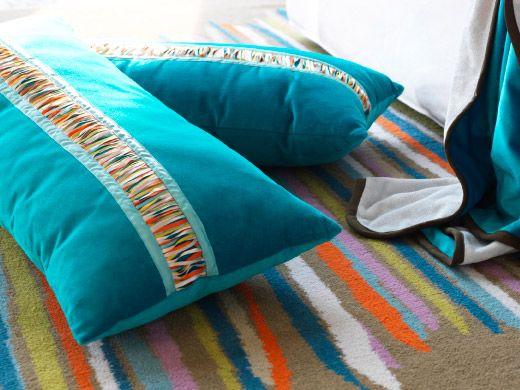 ikea sterreich nahaufnahme von malin fransar kissen in. Black Bedroom Furniture Sets. Home Design Ideas