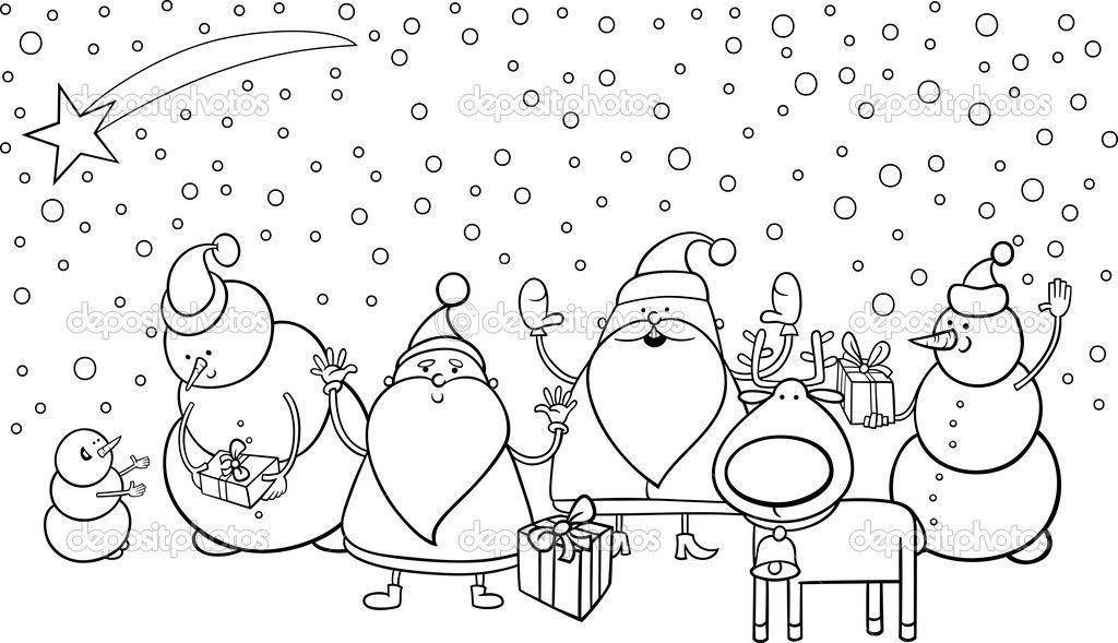 çizgi Karakter Boyama Googleda Ara çizimler Black White