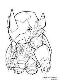 Image Result For Wargreymon Arte Pokemon Digimon Emblemas Dibujos
