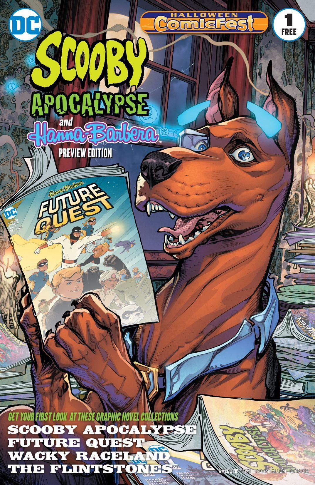 Scooby Apocalypse/HannaBarbera Halloween ComicsFest
