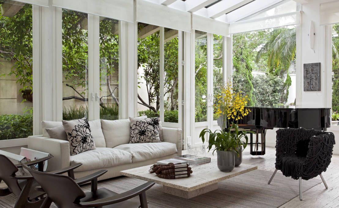 jardins modernos interiores Pesquisa Google Jardins Inverno