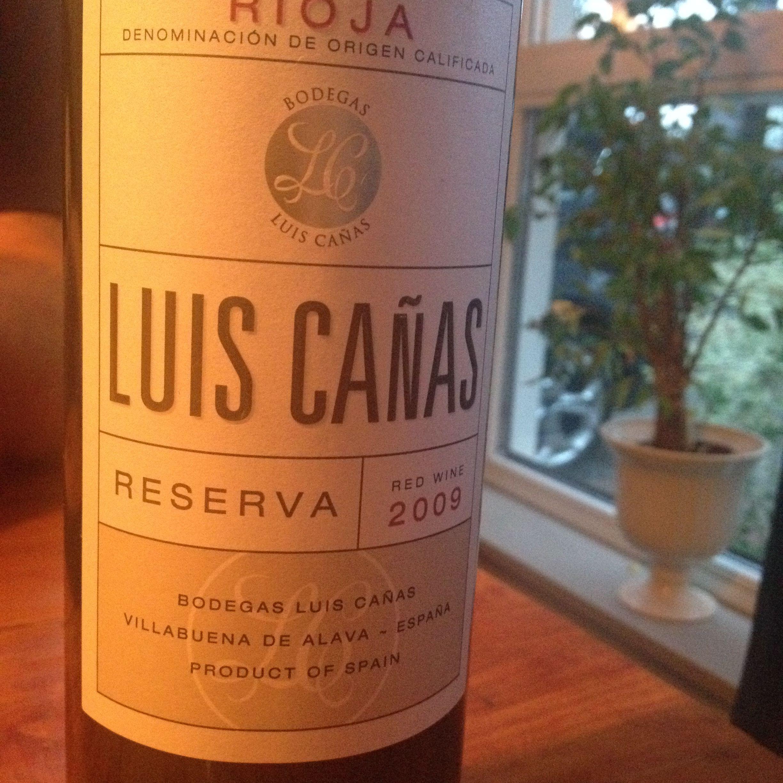 Luis Cañas Reserva 2009 Bodegas Canas Cava