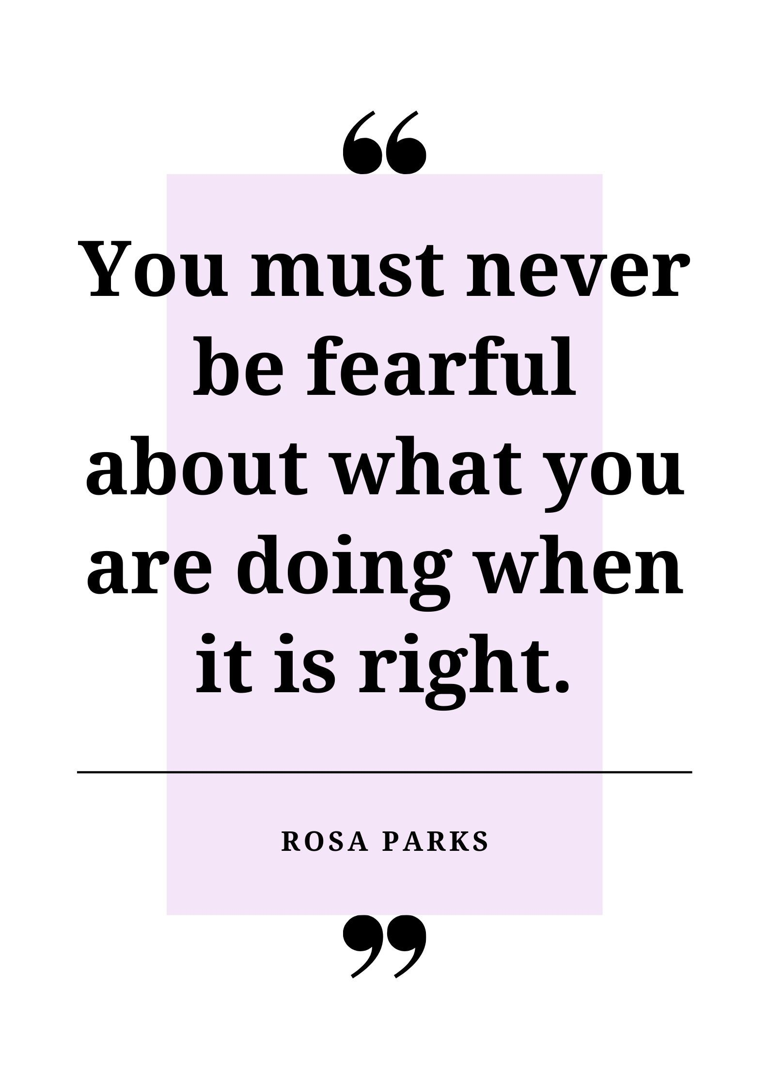 Download this selection of 10 posters featuring quotes by American civil rights activist Rosa Parks. Brighten up school bulletin boards whilst displaying important and thought-provoking messages for your students and fellow colleagues to read.