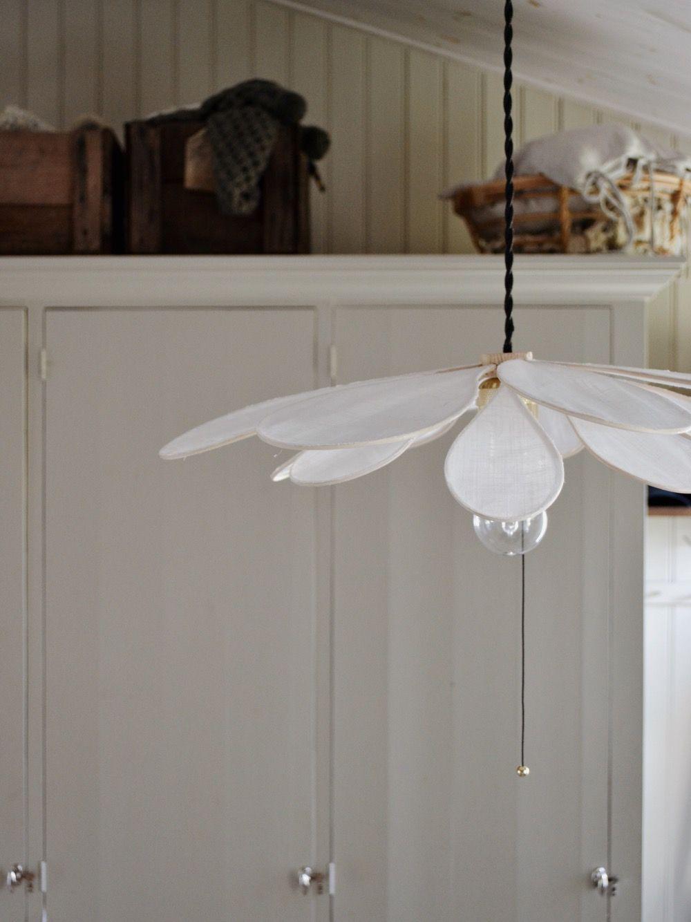 Uppiffning i hallen och ännu en DIY-lampa - Lovely Life Uppiffad hall; med lite färg och nya lampor -   taklampa diy Lamp